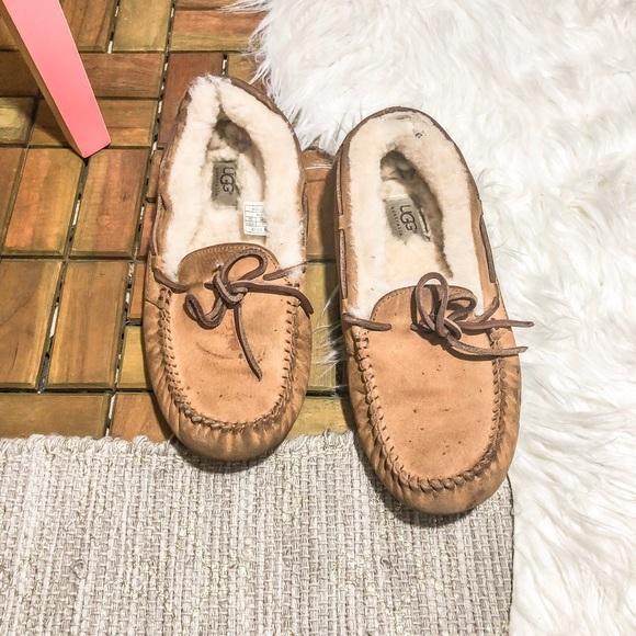 9584dfcff5a UGGS Chestnut Dakota Moccasin Slippers 9